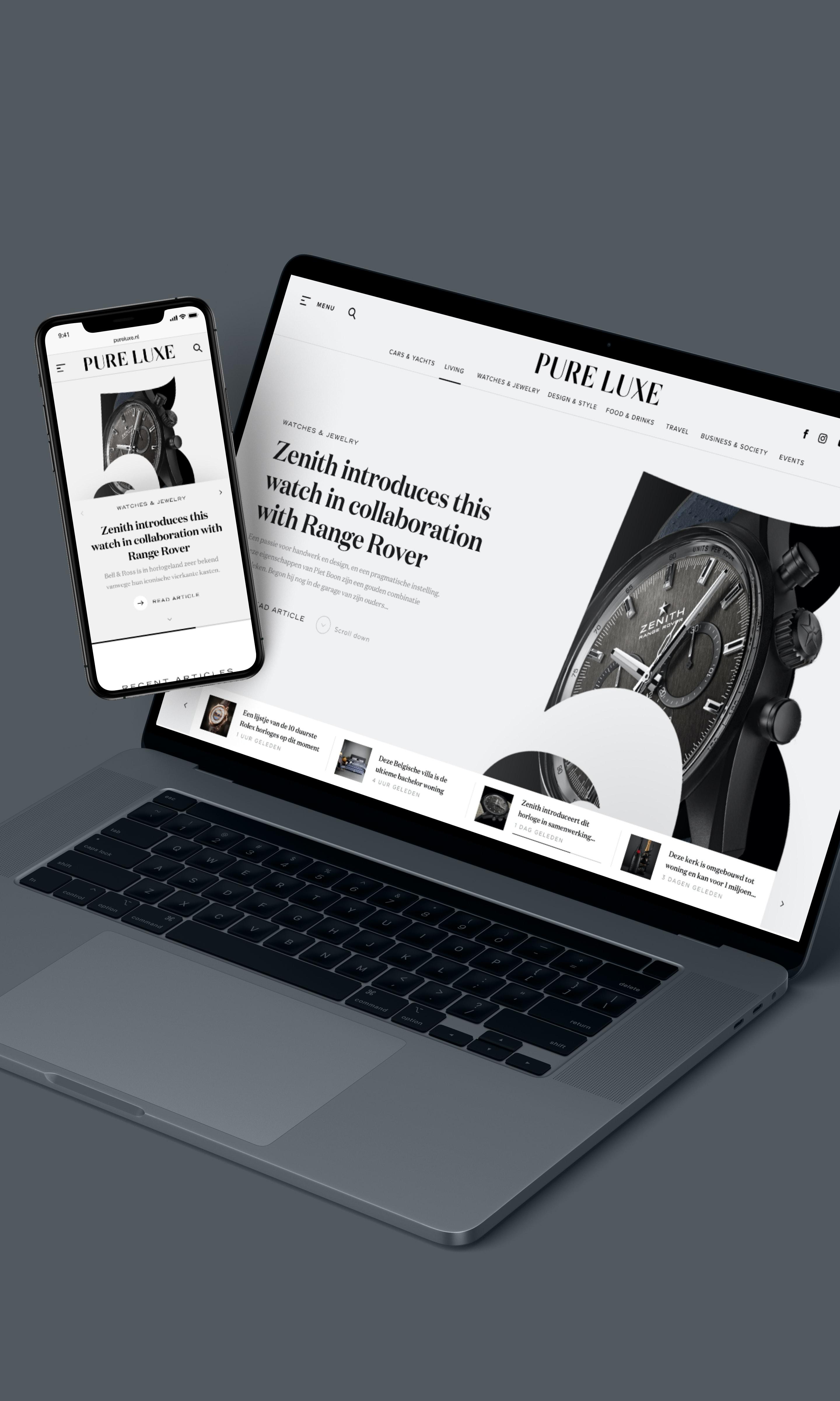 7: Designing daily digital luxury news